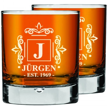 2 gab. Personalizētu viskija glāžu komplekts Tēva dienas dāvana, burbona glāzes, dāvana viņam dzimšanas dienā izmērs 270 ml.