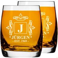 2gab. Personalizēta viskija vai burbona glāžu komplekts, Tēva dienas vai dzimšanas dienas dāvanas, izmērs 250ml